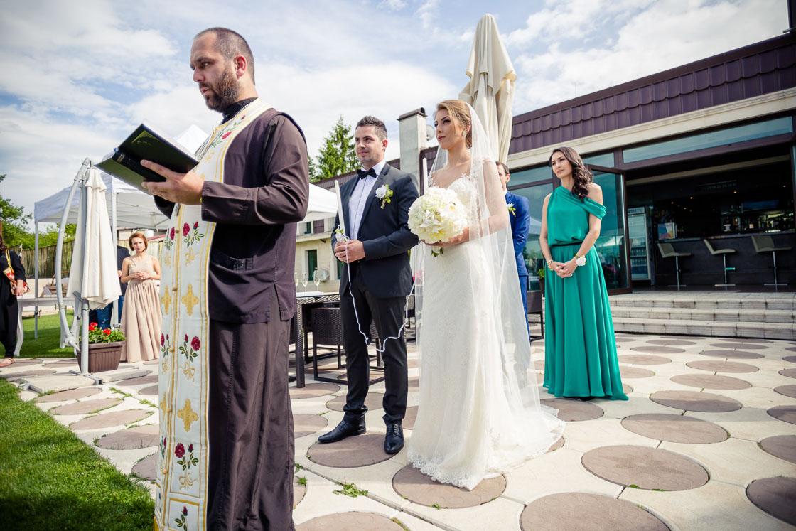 Сватбен фотограф в София вила Екатерина